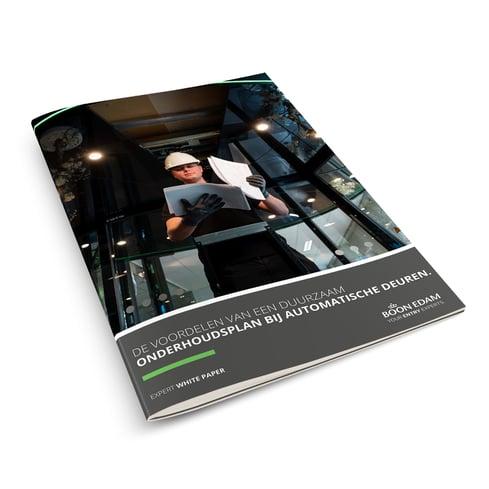 Boon Edam White Paper - Voordelen duurzaam onderhoudsplan toegangsproducten
