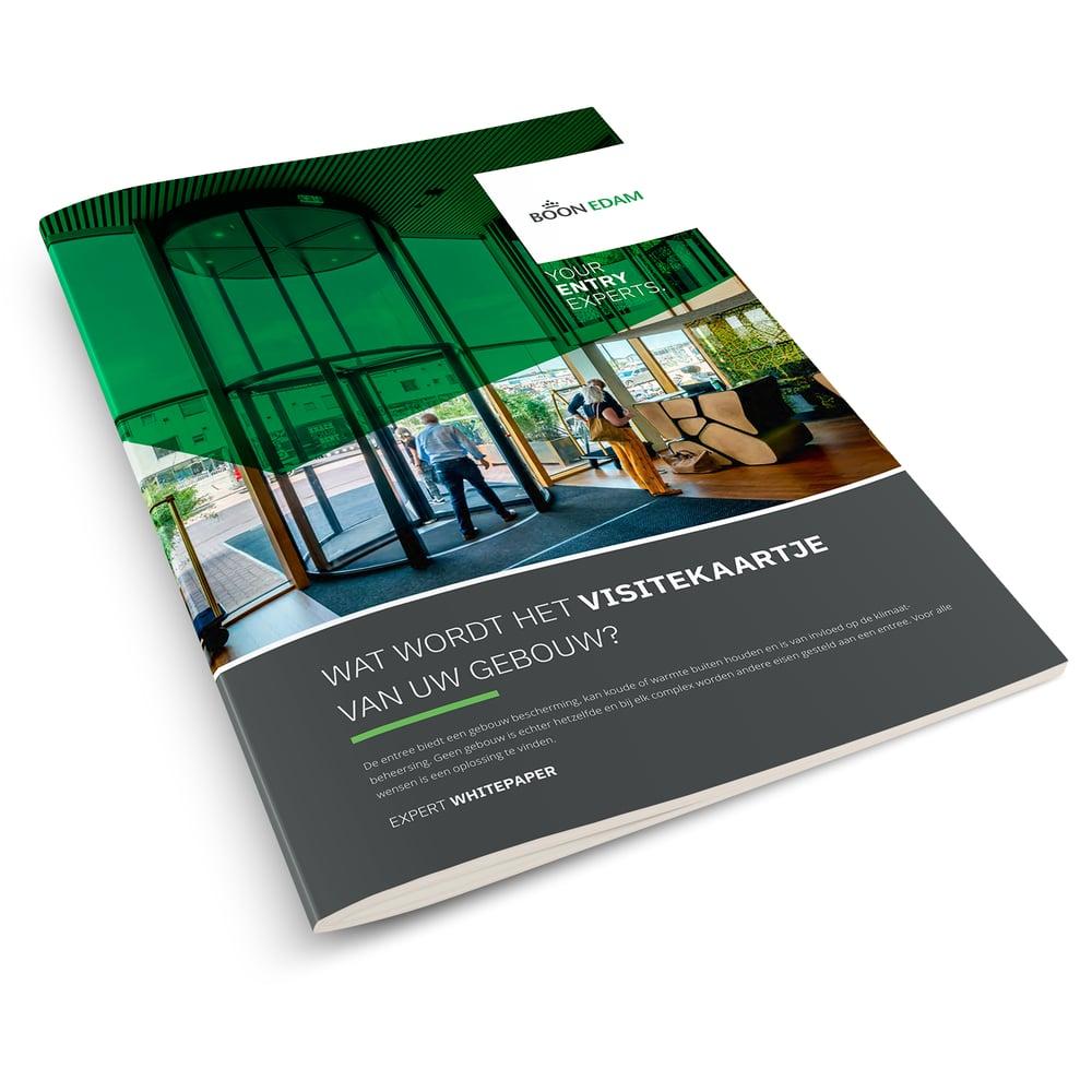 White paper: Wat wordt het visitekaartje van uw gebouw?   Boon Edam