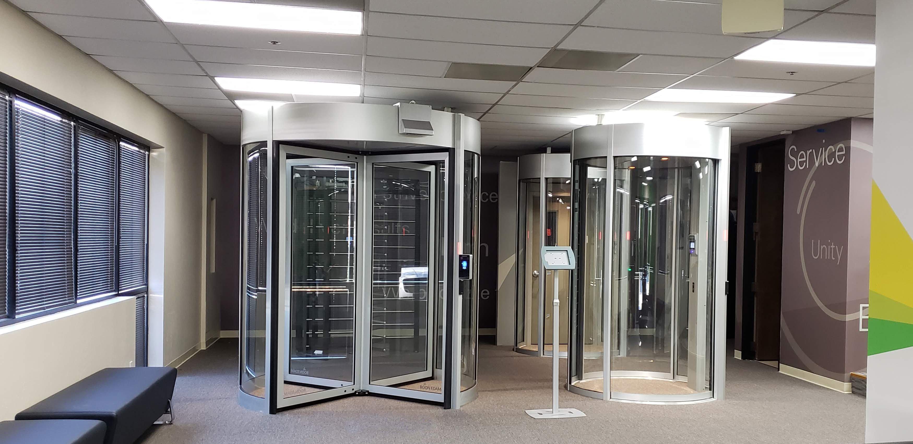 Boon Edam's San Jose Technology and Training Center